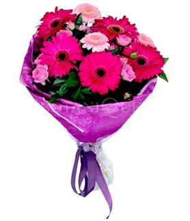 Yozgat çiçek siparişi sitesi  karışık gerbera çiçeği buketi