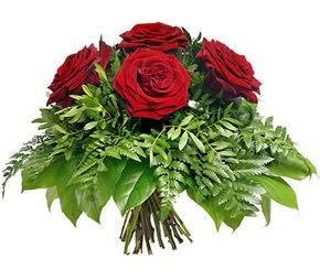 Yozgat çiçek mağazası , çiçekçi adresleri  5 adet kırmızı gülden buket