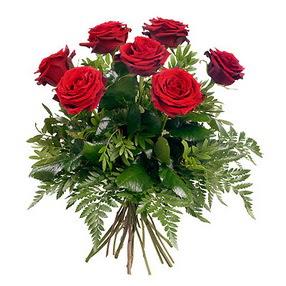 Yozgat online çiçek gönderme sipariş  7 adet kırmızı gülden buket