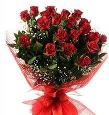 İlginç Hediye 21 Adet kırmızı gül  Yozgat internetten çiçek siparişi