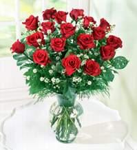 Yozgat internetten çiçek satışı  9 adet mika yada vazoda kirmizi güller