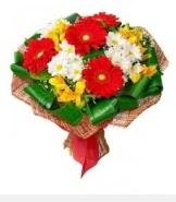 1 demet karışık buket  Yozgat hediye sevgilime hediye çiçek