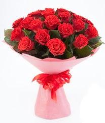 15 adet kırmızı gülden buket tanzimi  Yozgat çiçek siparişi sitesi