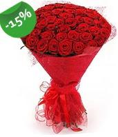 51 adet kırmızı gül buketi özel hissedenlere  Yozgat çiçek siparişi sitesi