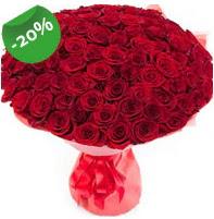 Özel mi Özel buket 101 adet kırmızı gül  Yozgat anneler günü çiçek yolla