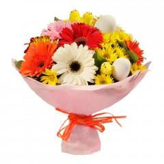 Karışık mevsim buketi Mevsimsel çiçek  Yozgat internetten çiçek siparişi