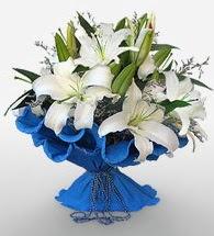4 dal kazablanka çiçeğinden buket  Yozgat cicek , cicekci