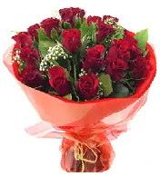 12 adet görsel bir buket tanzimi  Yozgat çiçek siparişi vermek