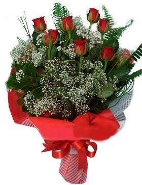7 kırmızı gül buketi  Yozgat çiçek servisi , çiçekçi adresleri