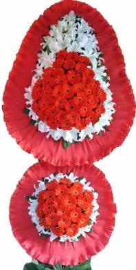 Yozgat online çiçek gönderme sipariş  Çift katlı kaliteli düğün açılış sepeti