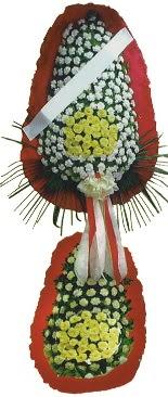 Çift katlı düğün açılış çiçeği  Yozgat çiçek servisi , çiçekçi adresleri