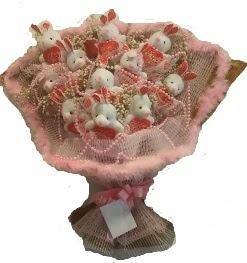12 adet tavşan buketi  Yozgat çiçek mağazası , çiçekçi adresleri