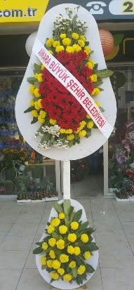 Çift katlı düğün nikah açılış çiçek modeli  Yozgat çiçekçi mağazası