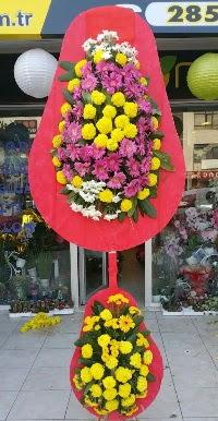Çift katlı düğün nikah açılış çiçek modeli  Yozgat online çiçek gönderme sipariş