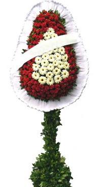 Çift katlı düğün nikah açılış çiçek modeli  Yozgat İnternetten çiçek siparişi