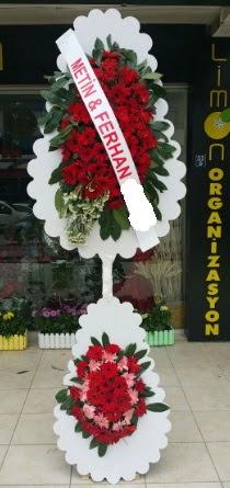 Çift katlı düğün nikah çiçeği modeli  Yozgat çiçek siparişi sitesi