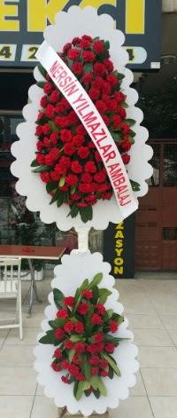 Çift katlı düğün nikah çiçeği modeli  Yozgat hediye çiçek yolla