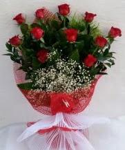 11 adet kırmızı gülden görsel çiçek  Yozgat çiçek satışı
