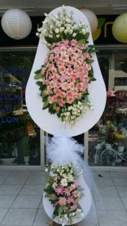 Çift katlı özel şahane sepet çiçeği  Yozgat çiçekçi telefonları