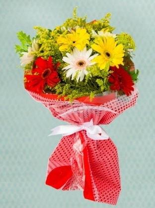 Karışık Gelbera Buketi  Yozgat çiçek siparişi sitesi