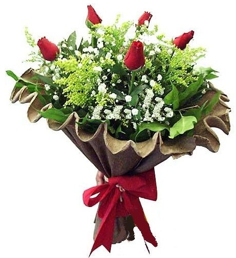 5 adet gülden buket  Yozgat çiçek gönderme sitemiz güvenlidir