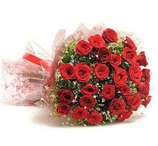 27 Adet kırmızı gül buketi  Yozgat ucuz çiçek gönder