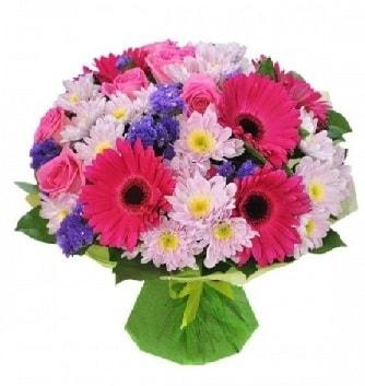 Karışık mevsim buketi mevsimsel buket  Yozgat çiçek satışı
