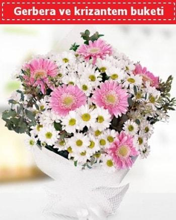 Papatya ve Gerbera Buketi  Yozgat çiçek , çiçekçi , çiçekçilik